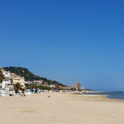 Strand dichtbij Casa La Farfalla